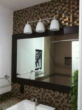 1x1 glass tile mosaic